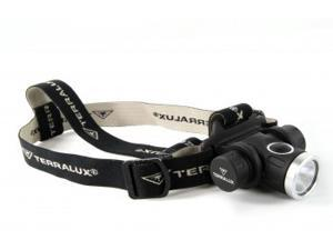 TerraLux Ultralight Headlamp Black TLH-10