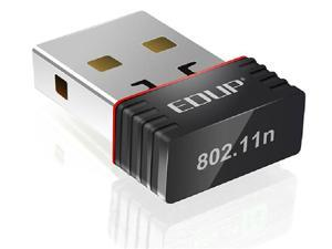 EDUP 2in1 Client / AP Mini 150M 150Mbps USB WiFi Wireless N LAN Network Adapter 802.11 n/g/b EP-N8508