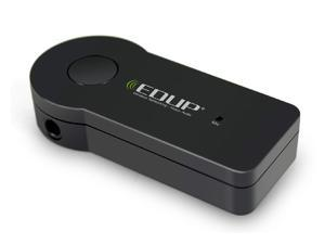 EDUP Bluetooth Stereo Music Receiver with MIC A2DP 3.5mm Handfree for Car / Home Audio System EP-B3511