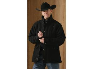 Miller Ranch Coat Mens Outerwear Melton Wool S Charcoal DW21224001