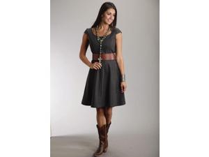 Stetson Western Dress Womens Cap Sleeve Wool 2 11-057-0539-0123 GY