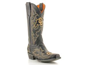 Gameday Boots Mens Western Colorado Buffs 10.5 D Black COL-M015-1