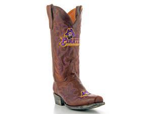 Gameday Boots Mens Western East Carolina Pirates 9 D Brass ECU-M075-1
