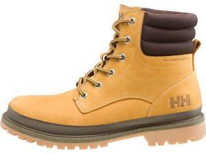 Helly Hansen Boots Mens Gataga Leather Rubber 7 Wheat Light Gum 10804