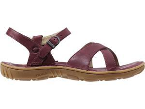 Bogs Outdoor Shoes Womens Todos Leather Sandal 9 Garnet 71694