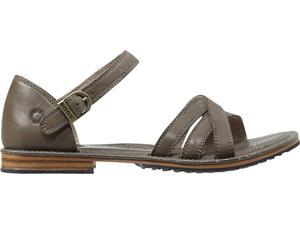 Bogs Outdoor Shoes Womens Nashville Leather Sandal 5.5 Cocoa 71690