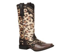 Durango Western Boots Womens Crush Leopard Low 8 M Leopard DCRD129