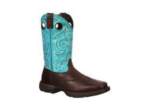 "Durango Western Boots Mens 12"" Rebel Saddle Pull 13 M Brown DWDB015"