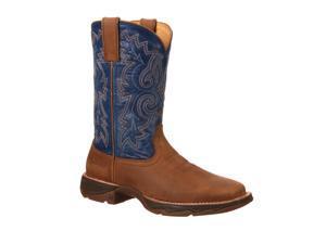 "Durango Western Boots Womens 10"" Rebel Ramped Up 11 M Brown DWRD035"