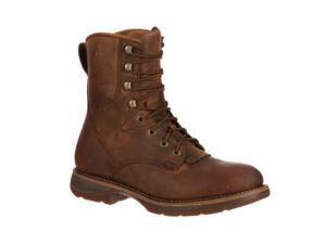 Durango Work Boots Mens Rebel Waterproof Lacer ST 8 M Brown DDB0066