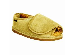 Old Friend Slippers Mens Sheepskin Step-In S 5-6 Chestnut 421182