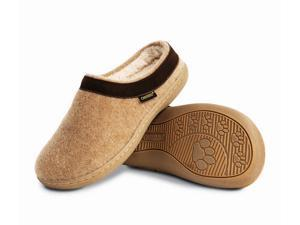 Old Friend Slippers Womens Curly Sheepskin Memory 10 Chestnut 340154