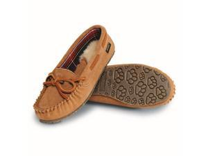 Old Friend Slippers Womens Kelly Moccasin Sheepskin 11 Tan 340156