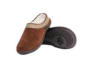 Old Friend Slippers Womens Emma Terry Cloth Padded 8 Brown 340153