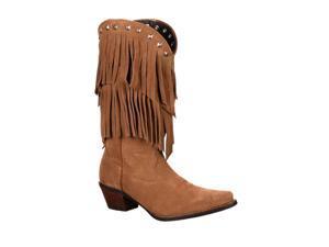 Durango Western Boots Womens Crush Flirty 9.5 M Desert Tan DCRD150