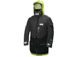 Helly Hansen Jacket Mens Aegir Ocean Waterproof Polartec M Ebony 30335