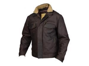 StS Ranchwear Western Jacket Men Leather Scout S Skipper Brown STS5176