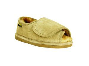 Old Friend Slippers Womens Sheepskin Step In XXL 13-14 Chestnut 441174
