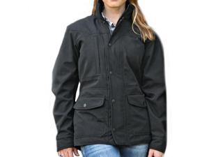 StS Ranchwear Western Jacket Womens Microfiber Brazos L Black STS9472