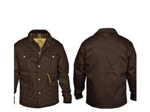 StS Ranchwear Western Jacket Mens Leather Grandale S Brown STS9743