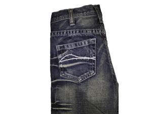 B. Tuff Western Denim Jeans Boys Kids Casey 13 Reg Med Wash BJCASE