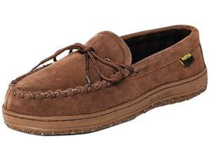 Old Friend Slippers Mens Wisconsin Loafer Moccasin 12 Chocolate 588161