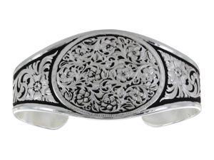 Montana Silversmiths Jewelry Womens Bracelet Bramble Silver BC2820
