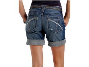 Cruel Girl Western Shorts Womens Bermuda Boyfriend 11 Med CB45755001