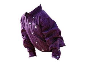 Cinch Western Shirt Boys Kids L/S Button Logo 2T Purple MTW7061132