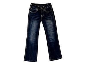 Cowgirl Tuff Western Jeans Girl Kid Whip It Good 7 Reg Med Wash GJWHIG
