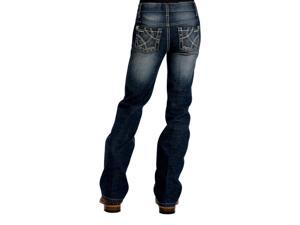 Cruel Girl Western Jeans Girls Kid Adaline 6 Slim Dark Wash CB22661001