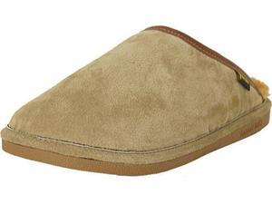 Old Friend Slippers Mens Sheepskin Scuff L 9-10 W Chestnut 421216