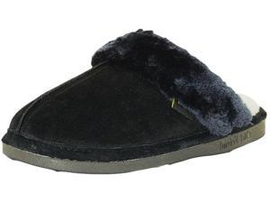 Old Friend Slippers Womens Montana Slip-On S 5-6 Black 548150