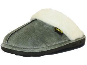 Old Friend Slippers Womens Montana Slip-On XL 11-12 Grey 548150