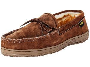 Old Friend Slipper Womens Kentucky Loafer Moccasin 10 Chocolate 548151