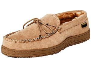 Old Friend Slippers Mens Washington Loafer Moccasin 14 Chestnut 588160