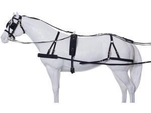 Tough-1 Driving Equipment Herculean Nylon Driving Horse Black 74-9801