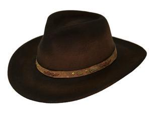Outback Trading Hat Mens Sidekick Water-Repellent Wool M Brown 1310