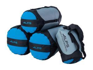 "Alps Mountaineering Dry Sack XL Waterproof 12"" x 25"" Blue 7464002"
