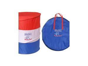 Tough-1 Barrel Racing Turn Collapsible Set Red White Blue 58-4000S