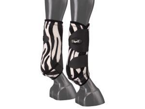 Tough-1 Boots Extreme Vented Front Sport Prints L Zebra 64-17000F