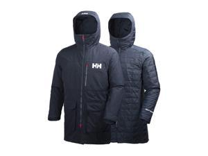 Helly Hansen Coat Mens Rigging Parka Classic Durable M Navy 62609