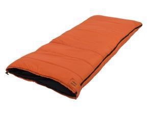 """Cedar Ridge Sleeping Bag Rockbridge +25° 33"""" x 78"""" Rust 4211705"""