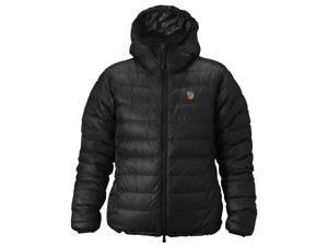Fjallraven Outdoor Jacket Womens Pak Down Microloft XL Black F89651