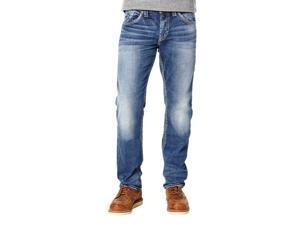 Silver Jeans Denim Mens Eddie Tapered 42 x 34 Medium Wash M42995SJB380