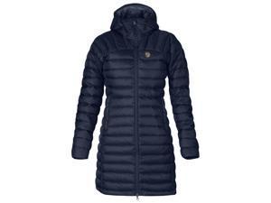Fjallraven Outdoor Jacket Womens Snow Flake Parka XS Dark Navy F80766