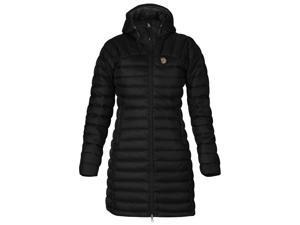 Fjallraven Outdoor Jacket Womens Snow Flake Parka XS Black F80766