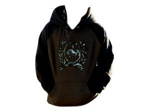 Cinch Western Sweatshirt Boys Kids Outdoor Hood XL Brown MMK2020001
