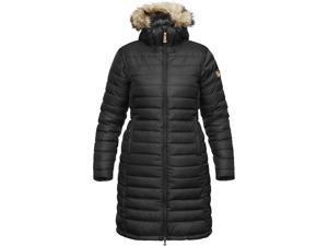Fjallraven Outdoor Coat Womens Ovik Down Parka W XS Black F89736