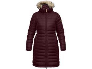 Fjallraven Outdoor Coat Womens Ovik Down Parka W S Dark Garnet F89736
